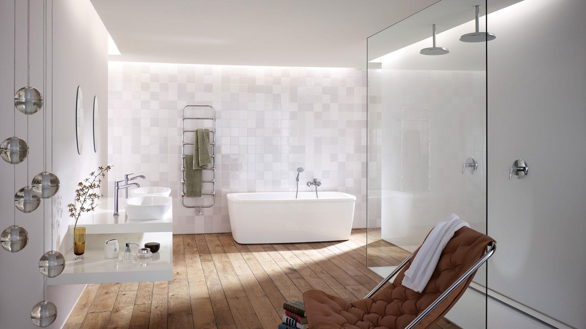Salle De Bain Classique Au Design Moderne Hansgrohe Fr